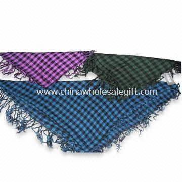 Scarf Made of 100% Viscose Available in Square Design