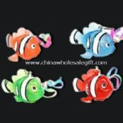 Fish-shaped Flashing Novelty Lights with LED and Keychain images