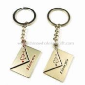 Metal Couple Keychains images