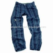 Stripe Twill Boys Pant images