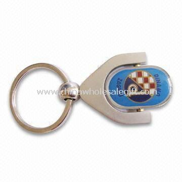 Souvenir Metal Keychain Made of Zinc-alloy