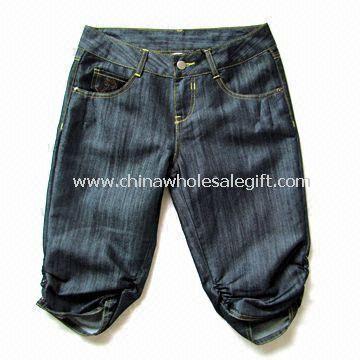 Womens Denim Middle Pants