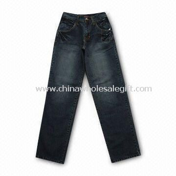 Womens Jeans Made of 97% Cotton and 3% Spandex