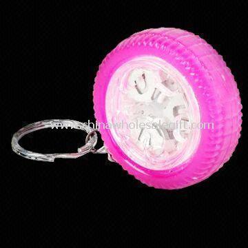 Flashing Wheel with Keyring