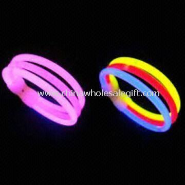 Glow Bracelets with Triple Connected