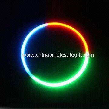 Glow Necklace Used as Bracelet