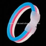 Flashing Glow Bracelets with Double Colors images