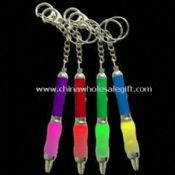 LED Light Pen with Soft Grip and Keychain images