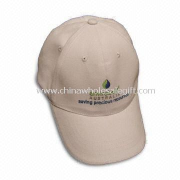 Baseball Cap with Printed or Embroidered Logo