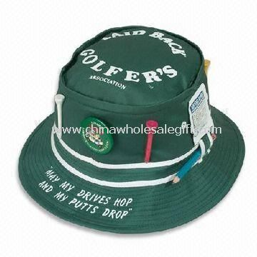 Fisherman/Bucket Hat with Metal Zipper