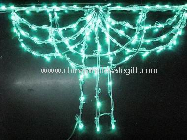 LED string curtain light
