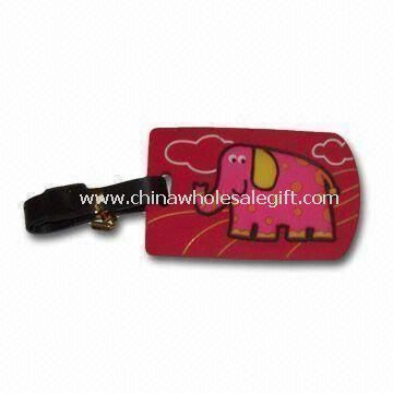 Soft PVC Luggage Tag for Promotional Gift
