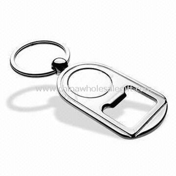Bottle Opener Keychain Made of Stainless Iron