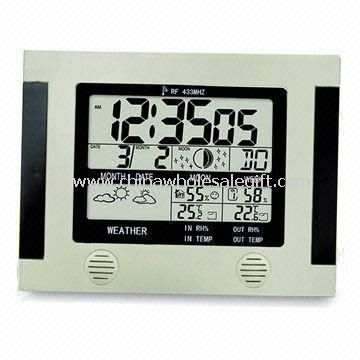 Desk Calendar with Indoor Thermometer