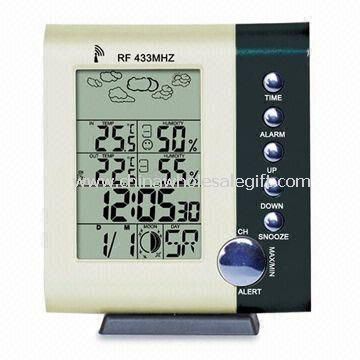 Desk Calendar with Wireless Weather Station