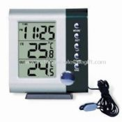 Desk Calendar with Indoor/Outdoor Thermometer images