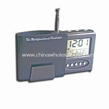 Multifunction Radio with Calendar Alarm and Temperature Function