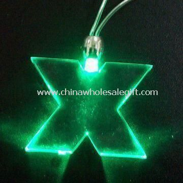 Flashing Necklace Comes in Red/Yellow/Blue/Green LED Lights