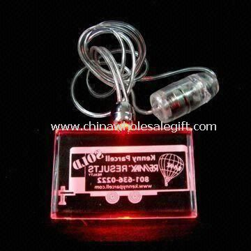 Flashing Necklace with One LED Light