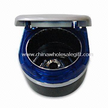 Illuminant Ashtray with Removable Metal Inner Can and Double-sided Adhesive Tape