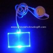 Light in Eye-catching Flashing Necklace with 1pc LED images