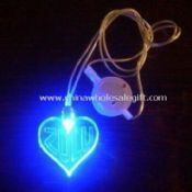 Novelty Light with Heart-shaped Flashing Necklace images
