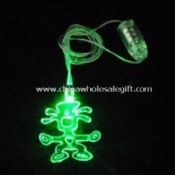 Scarecrow Shape Flashing Necklace images