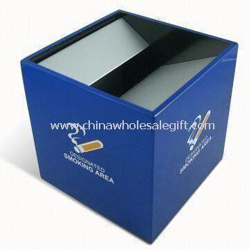 Windproof Smokeless Cube Ashtray