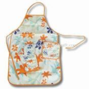 Printed Kitchen Cooking Apron Set images