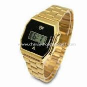Metal Digital Sports Watch with Alloy Case images