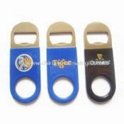 Stainless Steel Vinyl Bottle Openers with Screen Printing images