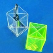 Transparent Acrylic Holder Can Display Kinds of Promotional Pens images