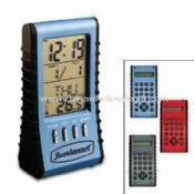 Calculator with Clock Back Side Electronic LCD Calendar images
