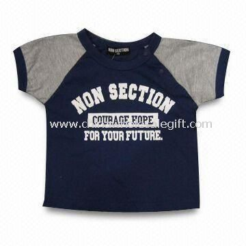 Childrens Cotton T-shirt with Printing