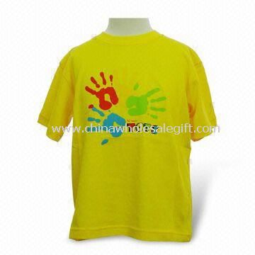 Childrens T-shirt Made of 100% Cotton