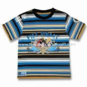 Childrens T-shirt with Print and Patch Embroidery images