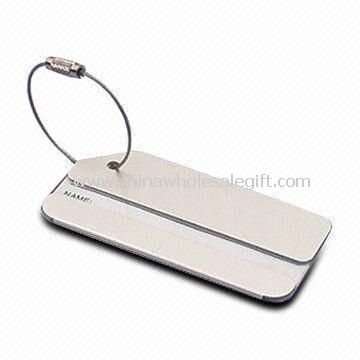 Aluminum Luggage Tag Suitable for Promotional Gifts and Souvenir Purposes