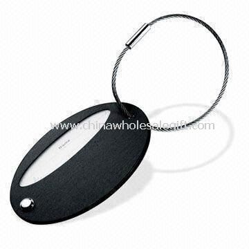 Luggage Tag Made of Aluminum or Alloy