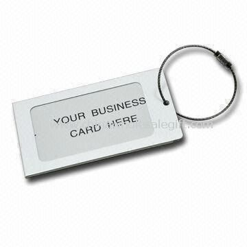 Luggage Tag with Pantone Color Made of Aluminum/Alloy
