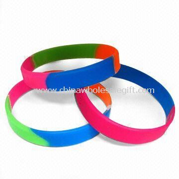Silicone Wristband Various Sizes and Types are Available