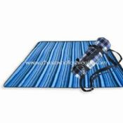 Travel/Picnic Mat/Rug with Acrylic Upside and PVC Bottom images
