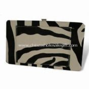 Womens Flat Frame Wallet with Front Pocket images