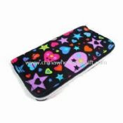 Womens Wallet in Fashionable Design with Stitching at Sides Made of Polyester images
