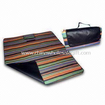 Picnic Mat Made of Polyester and PEVA