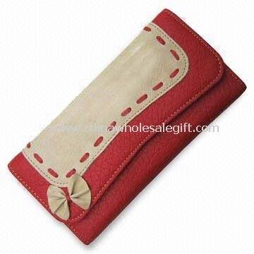 PU Leather Wallet with Pockets Suitable for Women