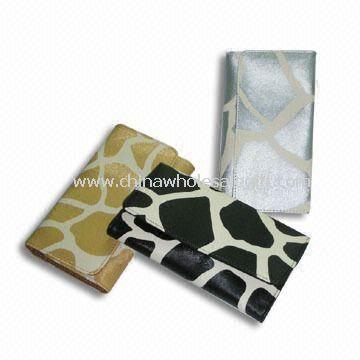 Tri-fold Long Wallet with Most POP Giraffe Texture