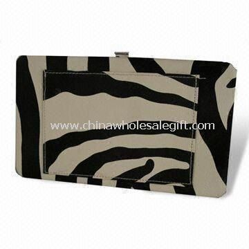 Womens Flat Frame Wallet with Front Pocket