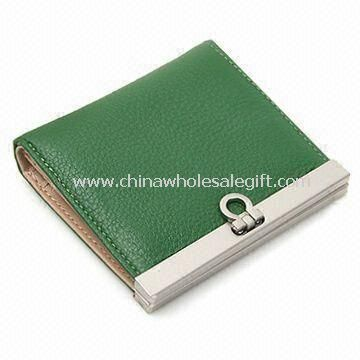 Womens Leather Wallet Contained Lots of Pockets