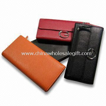 Womens PU Leather Wallets with Pockets