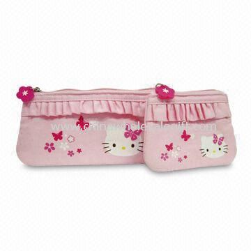 Womens Wallet Made of Twill Cotton Fabric